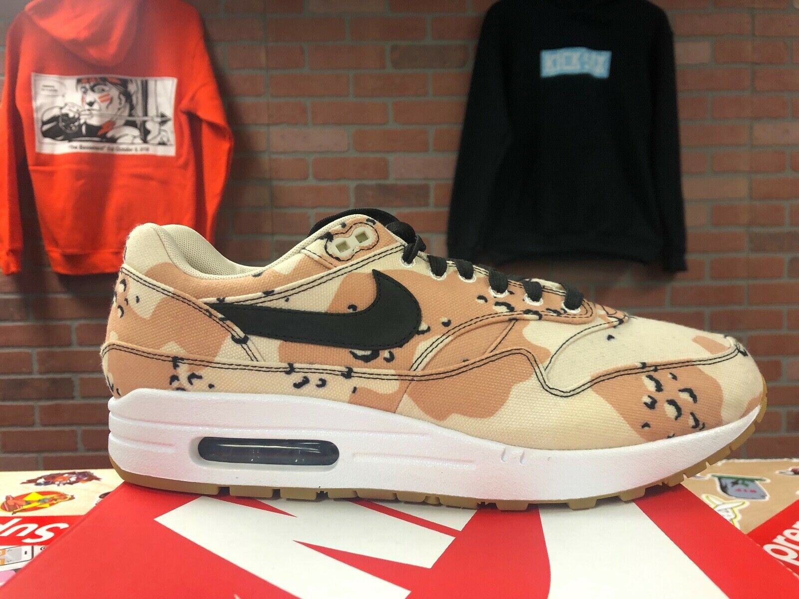 Nike Air Max 1 Desert Camo New DS Size 10 875844 204