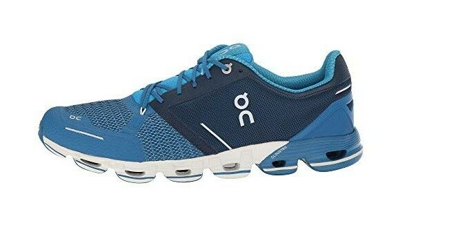 New 11.5 Men ON CLOUD CLOUDFLYER Running Athletic shoes bluee White 000011.4432