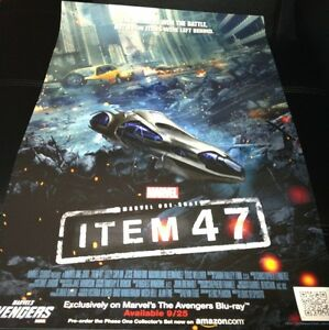 Sdcc 2012 Item 47 Poster 13x20 Avengers Marvel Exclusive Movie