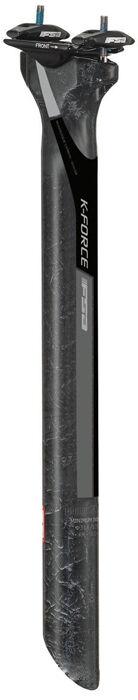 Fsa K-Force Lite Zero Offset Cochebono Sillín Bicicleta   Negro 31.6 X 400mm