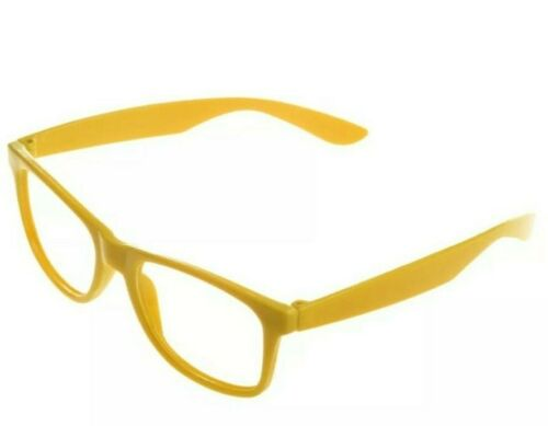 Fashion Glasses Frame Fancy Dress up costume nerd Children/'s and Adults