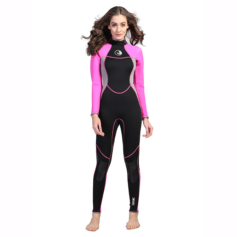 Neoprene 3mm Scuba Dive Suit Wetsuit Women Swimsuit Surfing Diving Swimming
