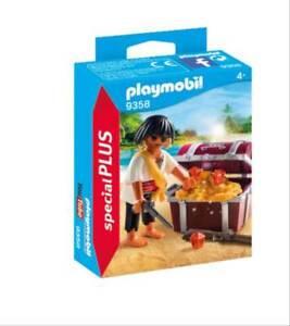 Playmobil-9358-Pirat-mit-Schatzkiste