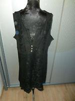 Kleid schwarz Spitze Tredy 44 XXL