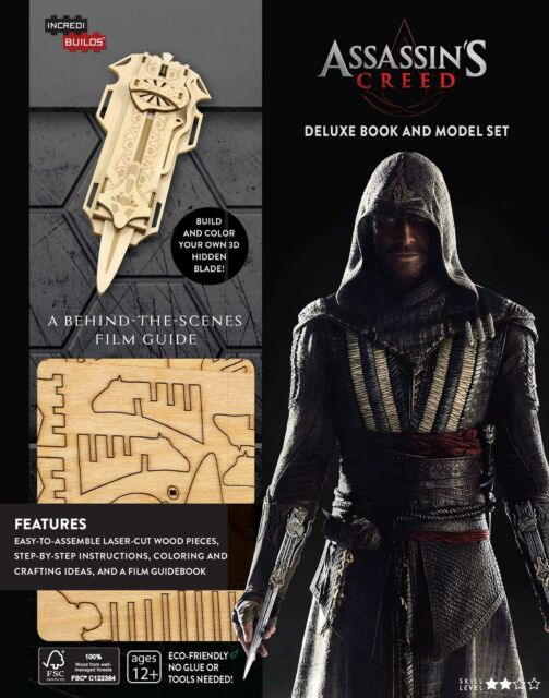 Assassin's Creed Deluxe Book & Model Set - HIDDEN BLADE  NEW *FREE P&P*