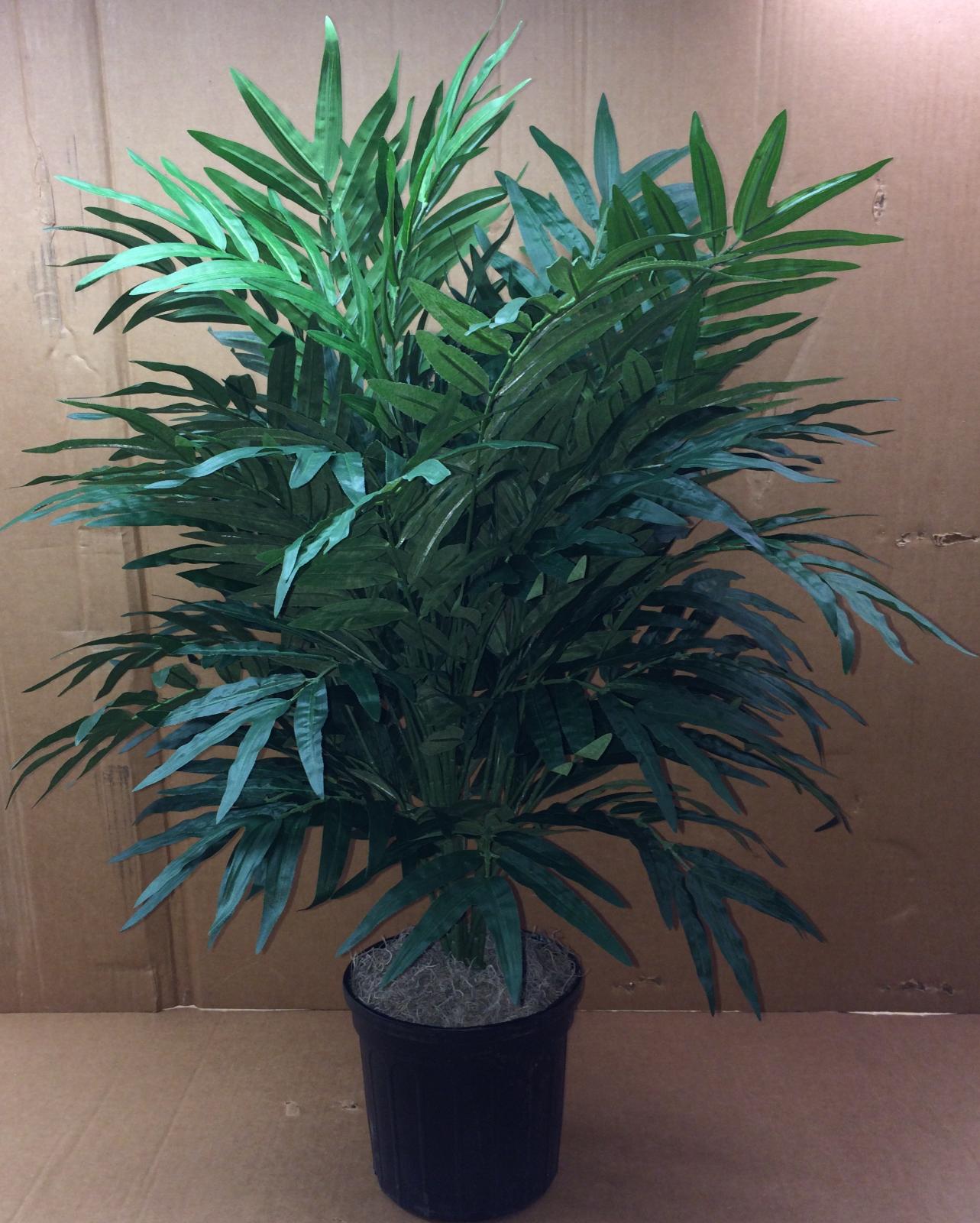 3' PHOENIX PALM PLANT ARTIFICIAL ARRANGEMENT SILK TREE BUSH IN POT TRIPLE FLORAL