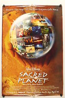 Sacred Planet- Robert Redford - Original Movie Poster - 2004 Rolled Ds C9/c10