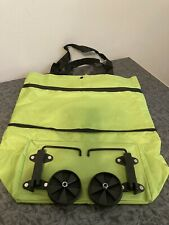 Portable Collapsible Shopping Cart Trolley Bag With Wheels Reusable Grocery E1