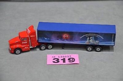 Coca Cola Christmas Truck Lorry TV Advert Santa Scale 18cm