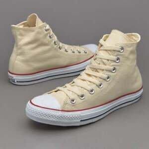 5bb86ed9af39 Converse Shoes Men s Size 7.5 Unbleached White Hi Top M9162 Chuck ...