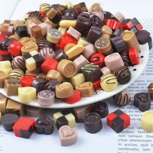 25-pcs-Resin-Mixed-Candy-Chocolate-12-20mm-Cabochons-Crafts-Jewelry-Findings