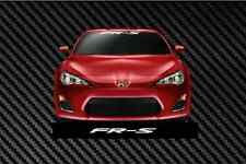 "FRS SCION WINDSHIELD Banner 22"" Decal Vinyl Sticker Race Toyota TRD frs"