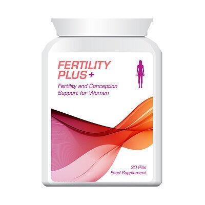 Fertilità Plus Fertilità Della Donna E Concezione Pillole Sostegno Per Le Donne No Ivf-