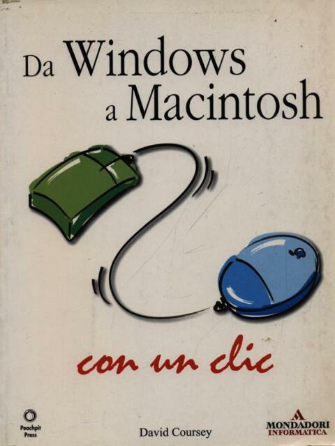 DA WINDOWS A MACINTOSH CON UN CLIC  COURSEY DAVID MONDADORI 2003