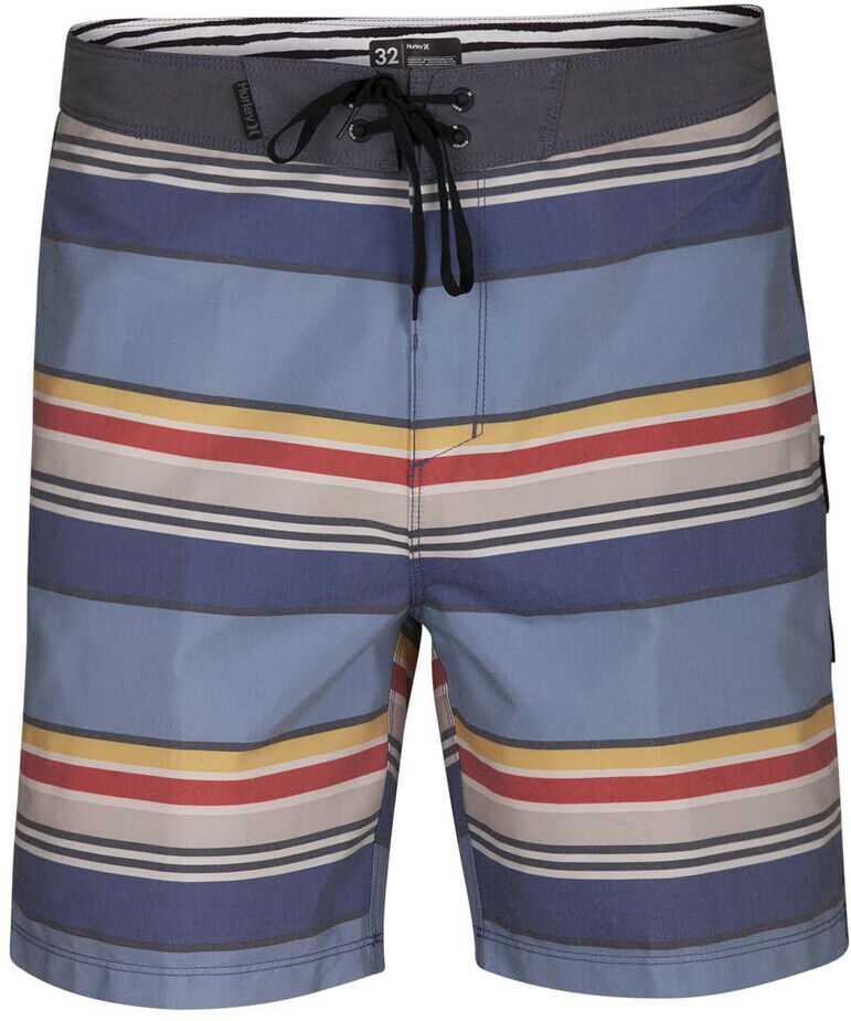 Hurley Pendleton Yosemite Beachside 18 inch Mid Length Boardshorts in Obsidian