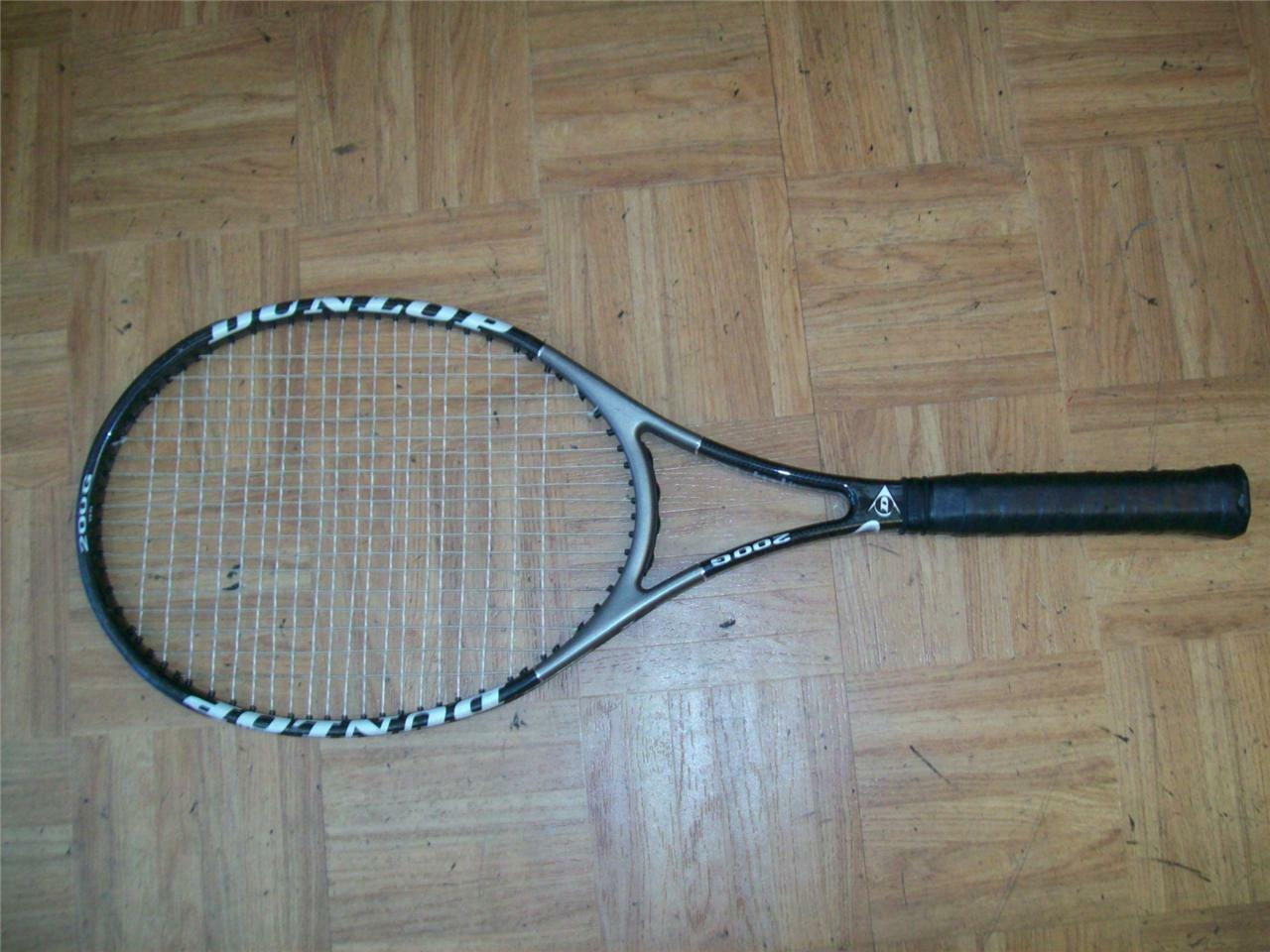 Dunlop Original Haas músculo Weave 200G 95 cabeza 18x20 4 3 8 Grip Tenis Raqueta