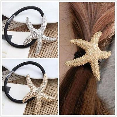 Beautiful Starfish Hair Rope Elastic Headband Cute Hair Accessories Headdress