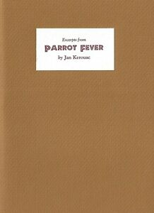 JAN-KEROUAC-EXCERPTS-FROM-PARROT-FEVER-LIMITED-EDITION-1994