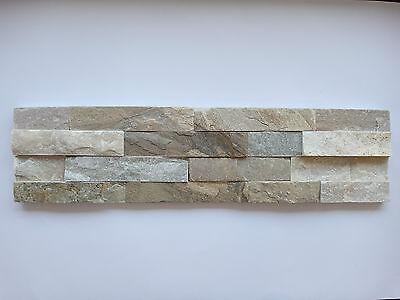 Fassade MüHsam Naturstein Wandverblender Beige Riemchen Klinker 150x600mm GroßE Auswahl;