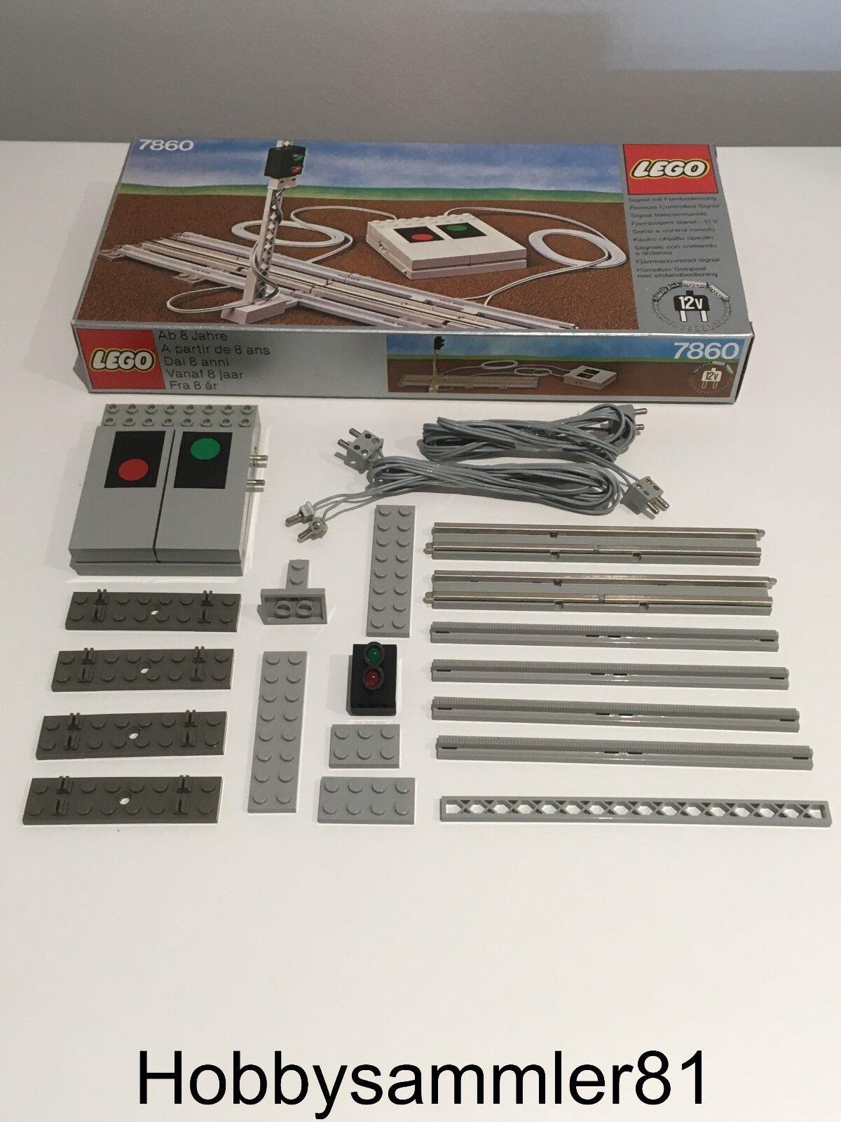 Lego® 7860 Remote Controlled Signal 12V   ferngesteuerte Signalanlage