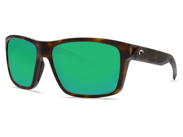 da887db5e3 NEW Costa Del Mar SLACK TIDE Matte Tortoise   580 Green Mirror Plastic 580P
