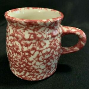 Gerald E Henn Pottery Roseville Rose Mugs 3 3 4 Tall Euc Coffee Mug Cup Ebay