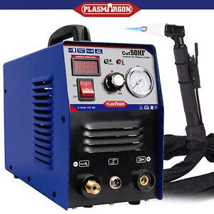 50Amp Air Plasma Cutter Machine HF Start DC Inverter  110 220V Metal Cut Work US