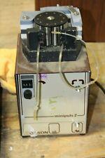 Gilson Minipuls 2 Pump With Pump Head Working