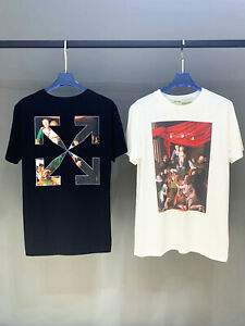 OFF-WHITE-2020SS-Religious-oil-painting-series-short-sleeve-Mens-T-shirt-2169