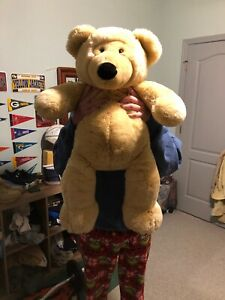 Dan-Dee-Plush-Bear-Large-31-034-Stuffed-Giant-Jumbo-Collector-039-s-Choice-Big-Teddy