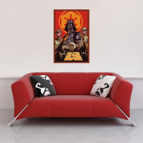 Poster Druck Fly for the glory Landscape Movie Größe 61x91,5 cm Star Wars