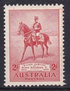 APD534-AUSTRALIA-1935-SG-156A-2d-SILVER-JUBILEE-WITH-034-KISS-PRINT