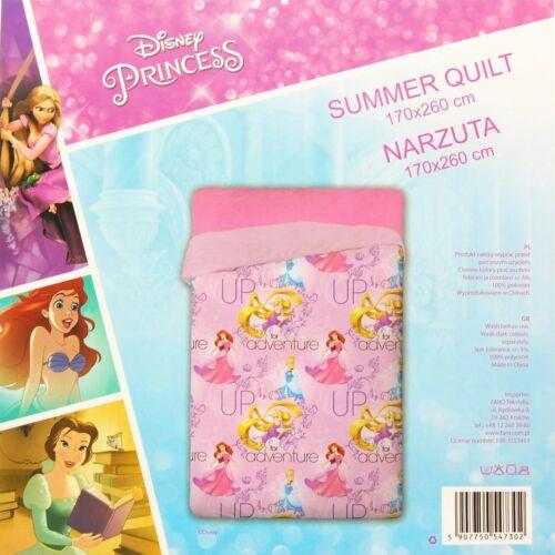 Trapuntino Principesse Disney copriletto trapuntato singolo primaverile estivo