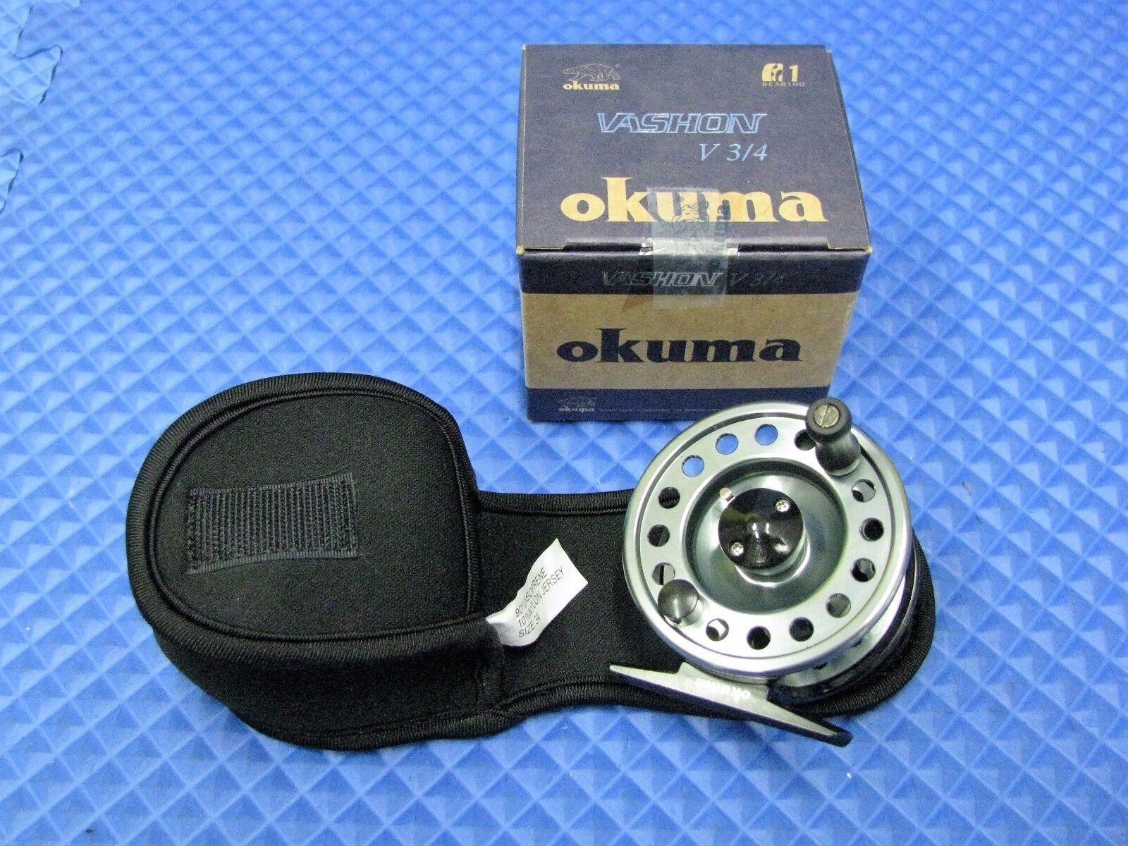 OKUMA Vashon V 3 4 FLY REEL In Box