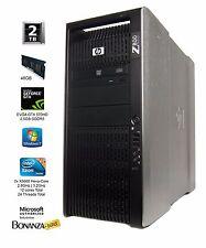 HP Z800 Workstation DUAL Xeon X5660 6-core | 48GB RAM | 2TB HDD | nVidia GTX 570