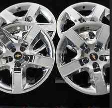 "(4) Chrome Wheel Covers Hub Caps Fits 17"" 2008-2012 Chevrolet Malibu OEM GM Part"