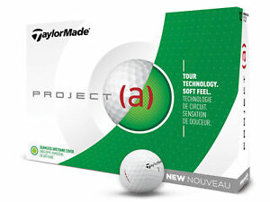 TaylorMade-Project-a-Golf-Balls-White
