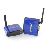 New PAT-630 5.8GHz AV Wireless Transmitter Receiver Sender TV Audio Video 200m #