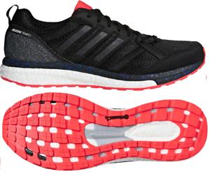 Mens Adidas Adizero Tempo 9 ATKIV Black Sport Athletic Running shoes CP9367 9-13