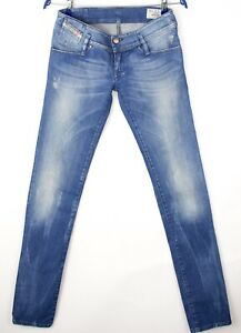 DIESEL Women Matic Slim Stretch Jeans Size W27 L34