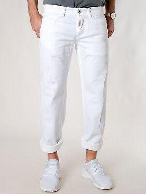 Disinteressato Dolce & Gabbana | Slim Fit Jeans-pantaloni | Fatta A Mano | Macchie Ottica | Uvp * 240 €- Essere Accorti In Materia Di Denaro