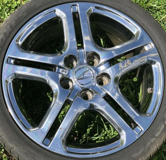 ACURA RL 2005-11 18X8 CHROME OEM WHEEL RIM SJA 880B