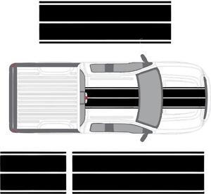 Ford-F150-F250-F350-Racing-Stripes-Vinyl-Decal-Sticker-Rally-Ecoboost-Diesel