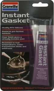 Granville-Clear-INSTANT-GASKET-amp-Sealant-40g-Quality-RTV-Silicone-Waterproof