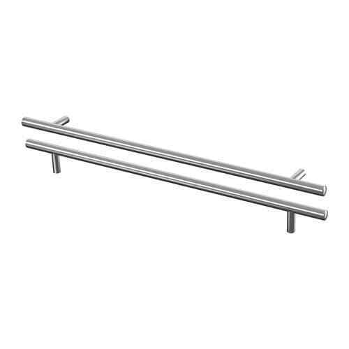 in 5 sizes Stainless Steel 2-Pack Ikea LANSA Handle for Wardrobe Cabinet Drawer