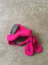 d65d272dd31 item 1 Jordan Jumpman Infant Girls Baby Fleece Hat and Mitten Set 2 Pc Pink  NWT -Jordan Jumpman Infant Girls Baby Fleece Hat and Mitten Set 2 Pc Pink  NWT