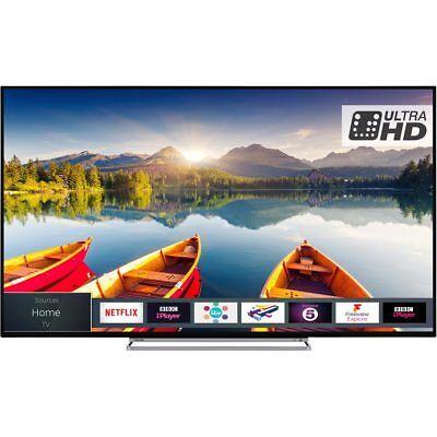 Toshiba 65U5863DB 65 Inch 4K Ultra HD Smart LED TV 3 HDMI