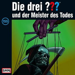 CD * DIE DREI ??? (FRAGEZEICHEN) - 155 - UND DER MEISTER DES TODES # NEU OVP =