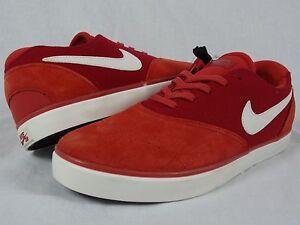 Mens Nike Eric Koston 2 SB SAMPLE sz 9 641868 616 Red White skateboard max xi