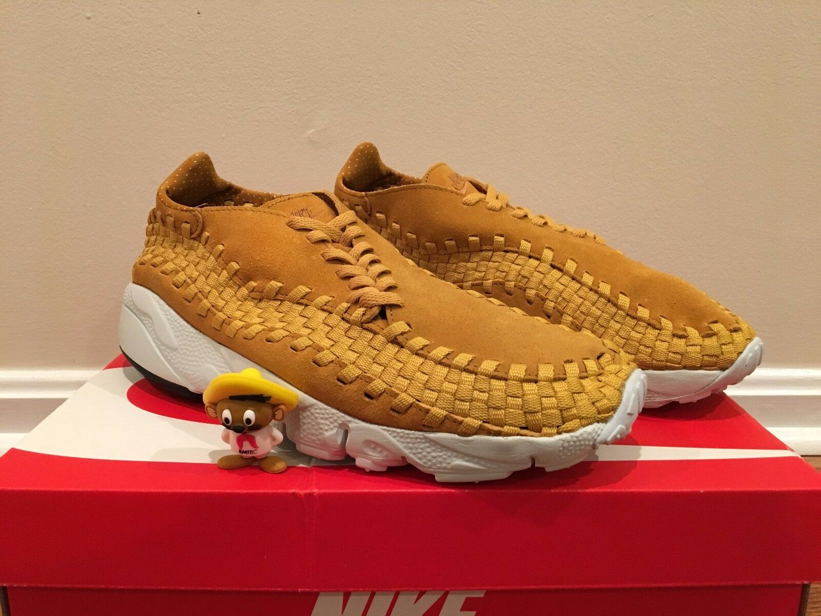 DS DS DS 2017 Nike Air Footscape Woven NM NM Woven Desert Ochre Sz 9.5   f451e6